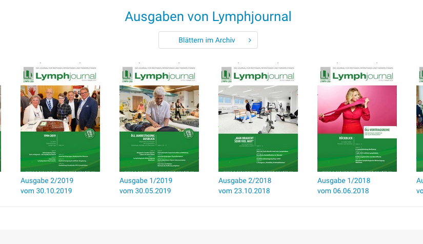 Lymphjournal 1/20